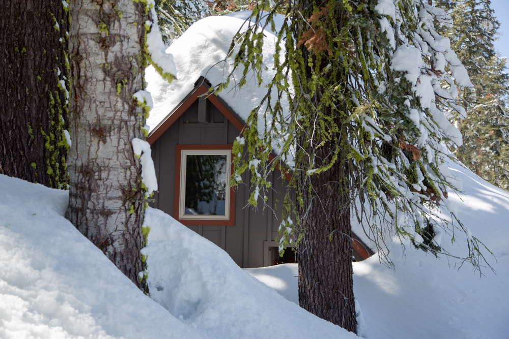 Cabins Buried in Snow-10