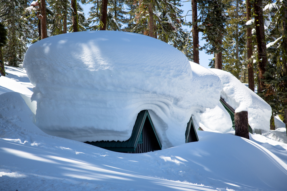 Cabins Buried in Snow-11