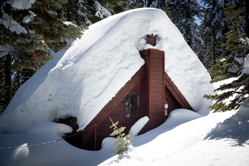 Cabins Buried in Snow-13