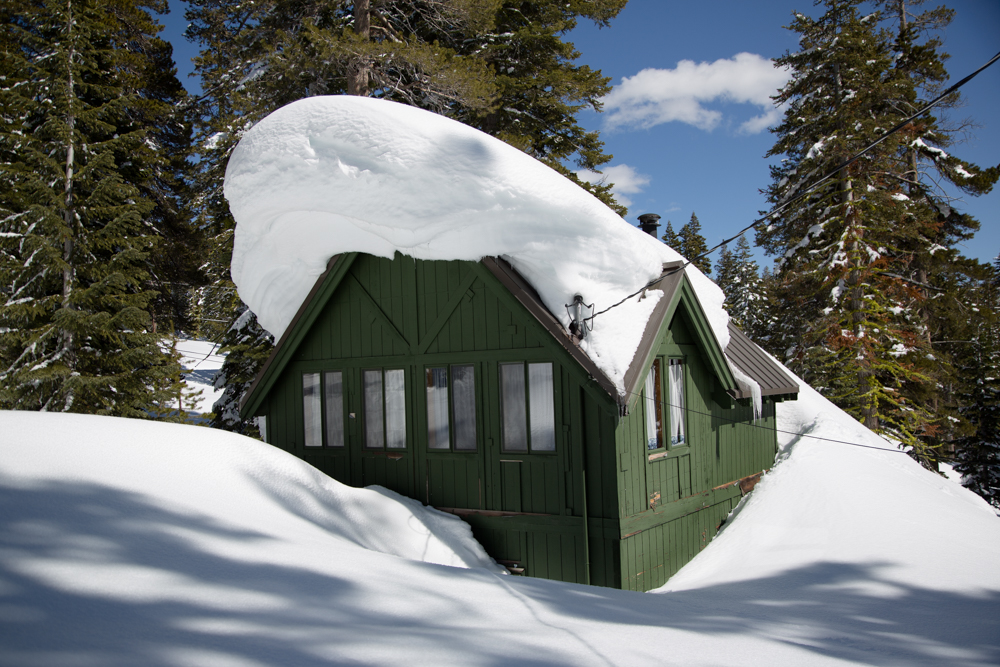Cabins Buried in Snow-16