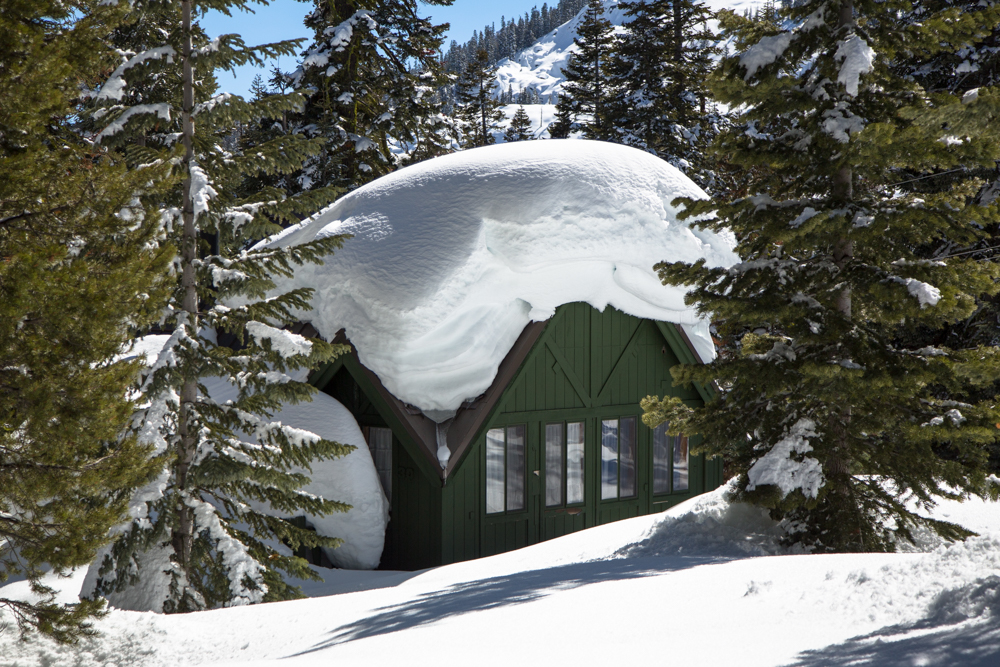 Cabins Buried in Snow-17
