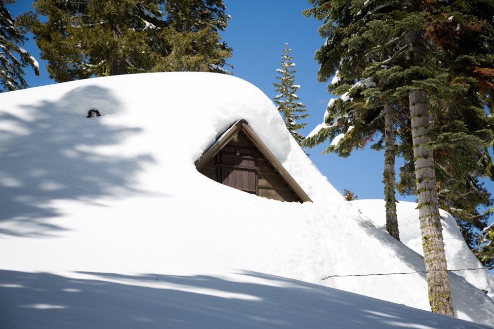 Cabins Buried in Snow-3