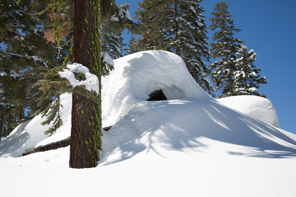 Cabins Buried in Snow-5