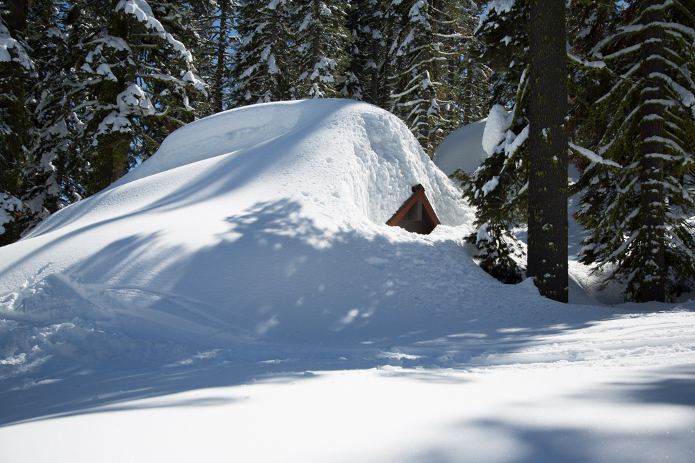Cabins Buried in Snow-8