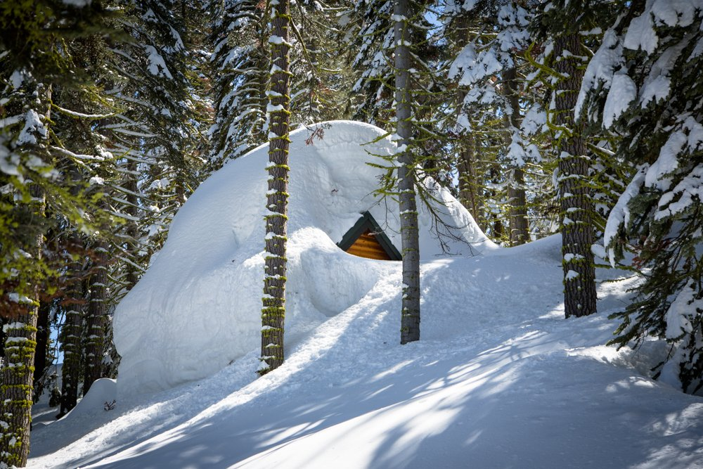 Cabins Buried in Snow-9