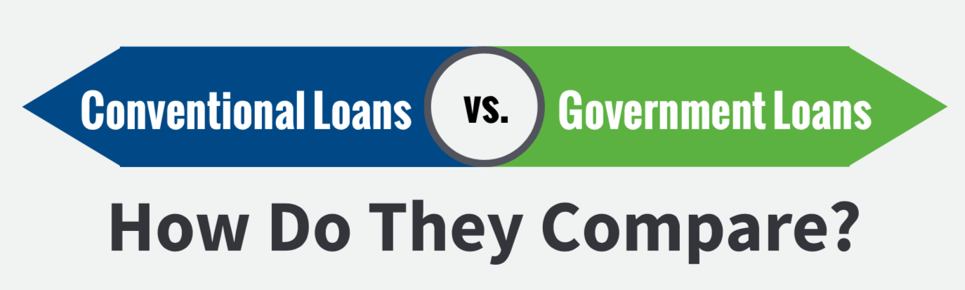 conventional loans v government loans - how do they compare?