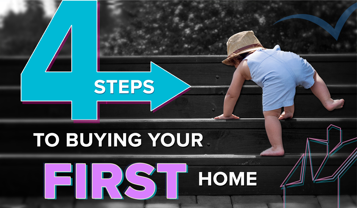 4 Steps to Buying Your First Home Blog Cover Image